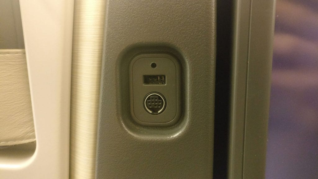 Cathay Pacific Business Class Boeing 777 300 USB