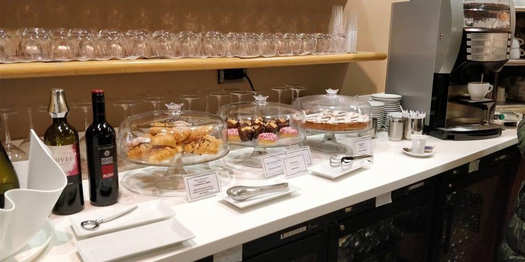 Club SEA Lounge Mailand Malpensa Sala Monteverdi Buffet 3