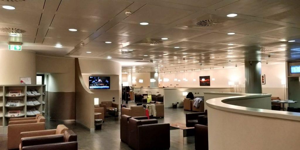 Club SEA Lounge Mailand Malpensa Sala Monteverdi Raum