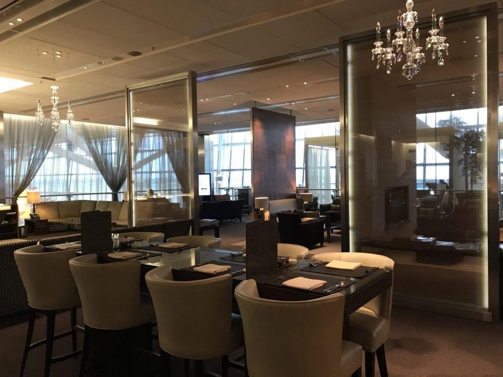 Concorde Room London Sitzplätze