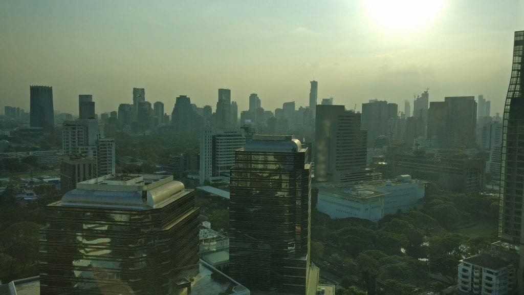 Conrad Bangkok Executive Room View