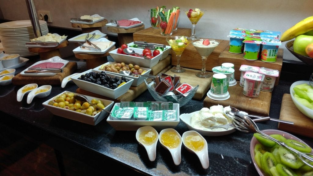 Conrad Istanbul Executive Lounge Breakfast 2