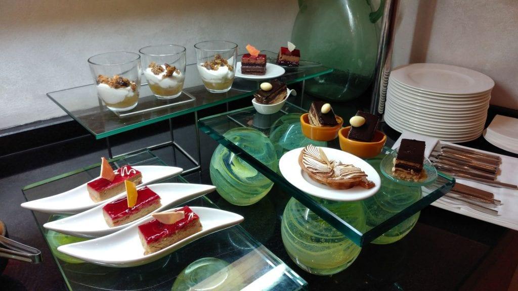 Conrad Istanbul Executive Lounge Evening Spread 2