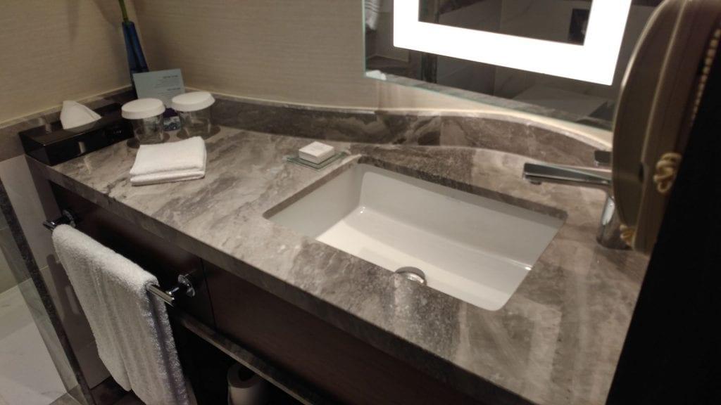 Conrad Istanbul Executive Room Bathroom 2