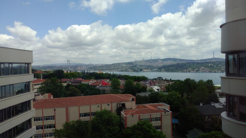 Conrad Istanbul Executive Room View
