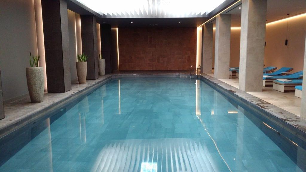Conrad Istanbul Indoor Pool 2