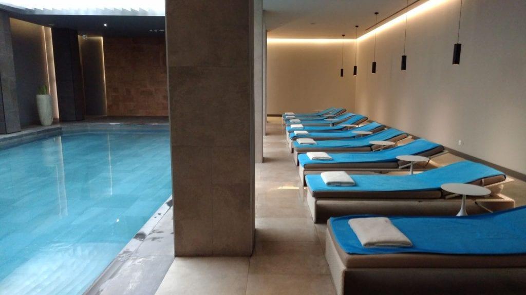 Conrad Istanbul Indoor Pool 3