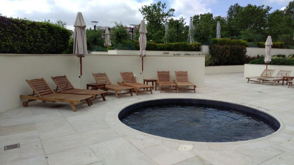 Conrad Istanbul Outdoor Pool 2