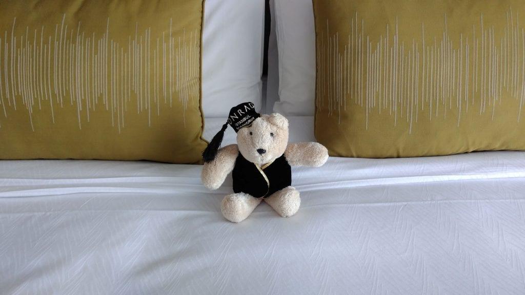 Conrad Istanbul Teddy