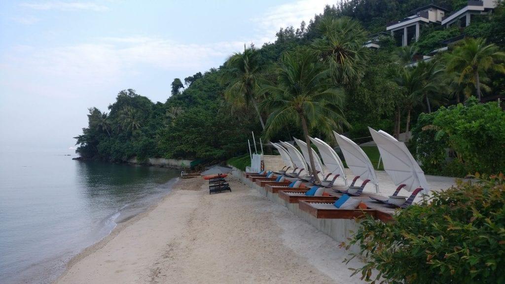 Conrad Koh Samui Beach 8
