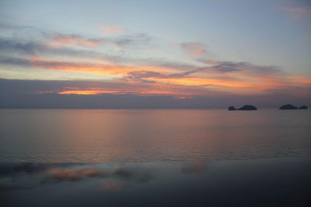 Conrad Koh Samui Sunset