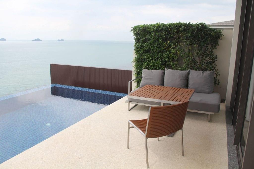 Conrad Koh Samui Villa Terrace