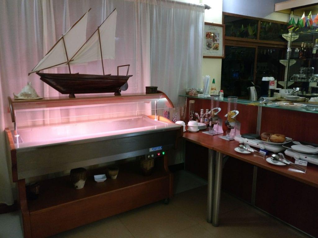 Dhow Lounge Zanzibar Buffet 2
