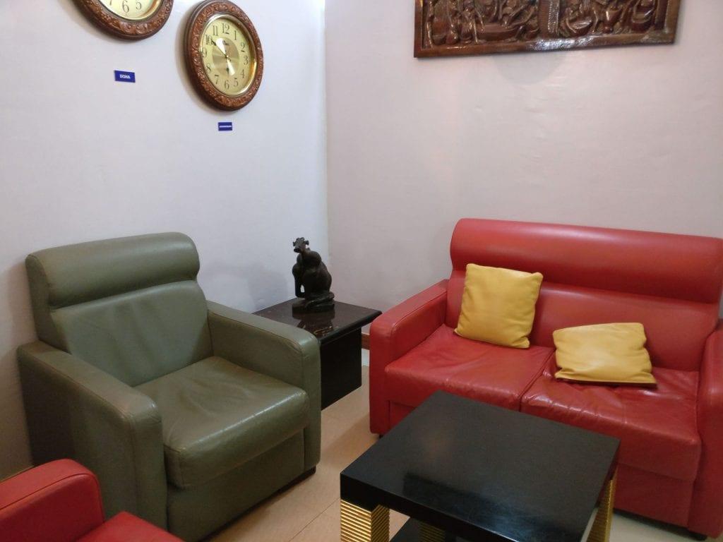 Dhow Lounge Zanzibar Seating