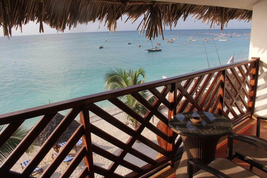 DoubleTree Resort Zanzibar Nungwi Ocean View Room Balcony