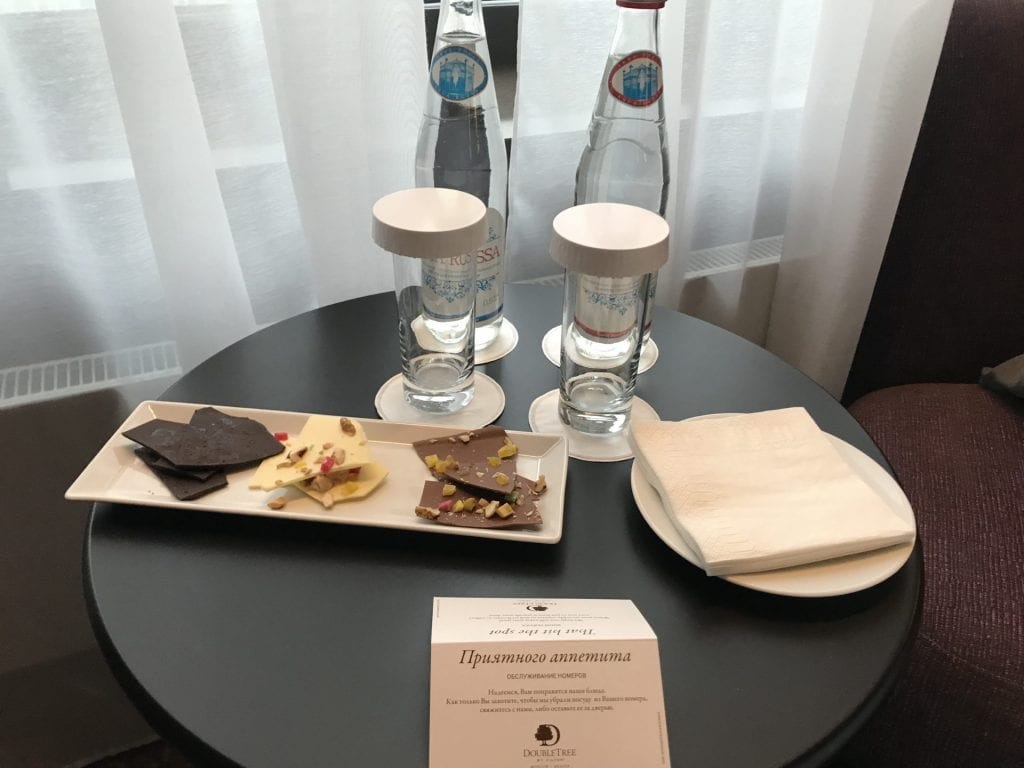 DoubleTree by Hilton Moscow Begueßung
