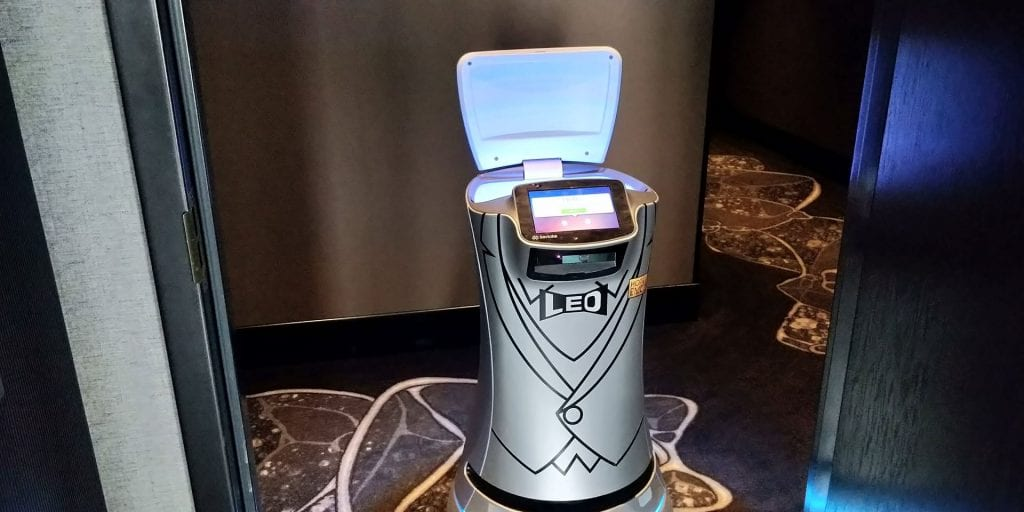 EMC2 Chicago Autograph Collection by Marriott Roboter Zimmer