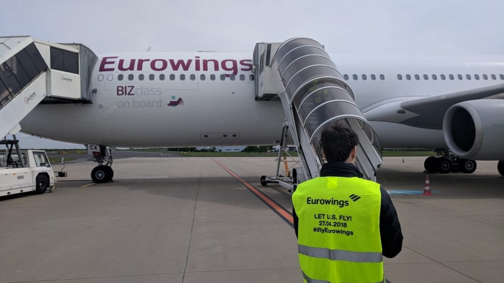 Eurowings A340 BIZ Jan