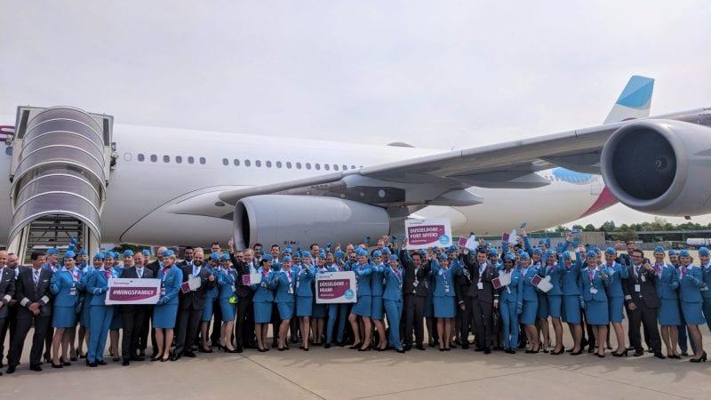 Eurowings A340 BIZclass Event