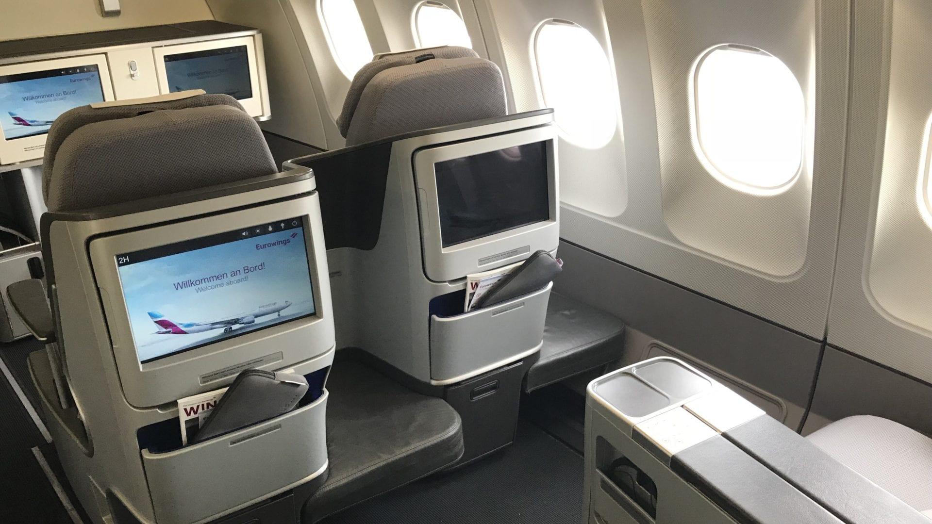 Eurowings A340 BIZclass hinten