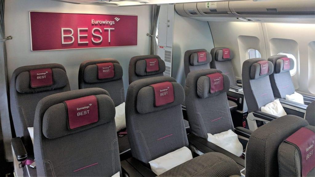 Eurowings A340 Best Kabine (2)