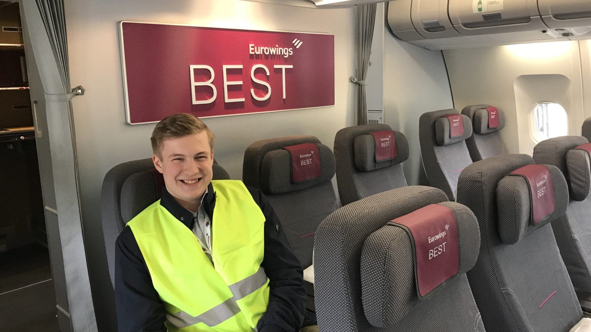 Eurowings A340 Best Sitztest Severin