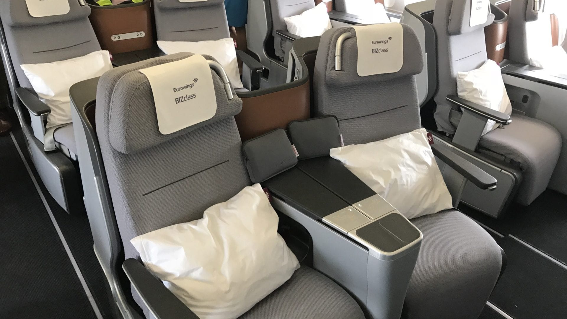 Eurowings A340 Business Class