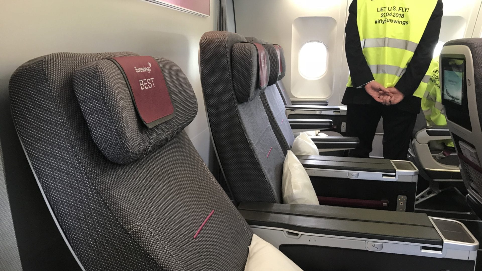 Eurowings Best Recline