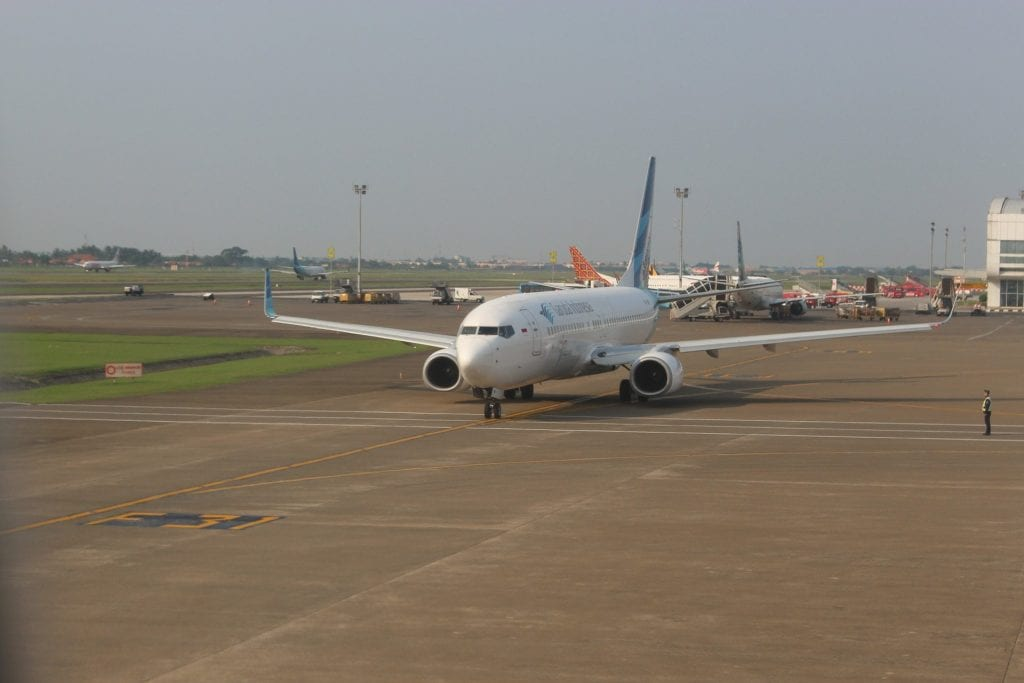 Garuda Indonesia Boeing 737