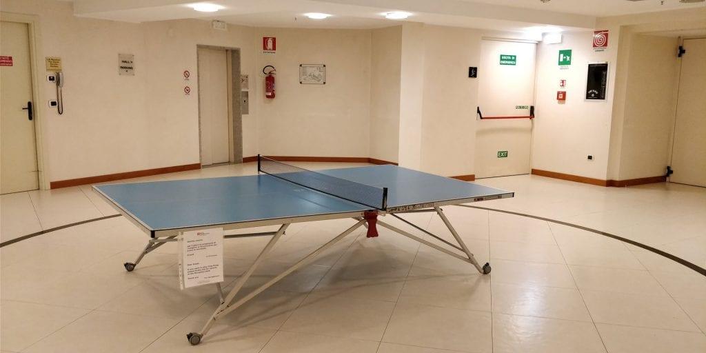 Hilton Garden Inn Milan Malpensa Fitness Tischtennis