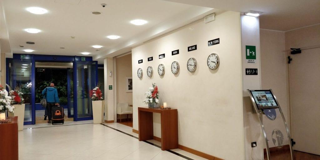 Hilton Garden Inn Milan Malpensa Lobby Eingang