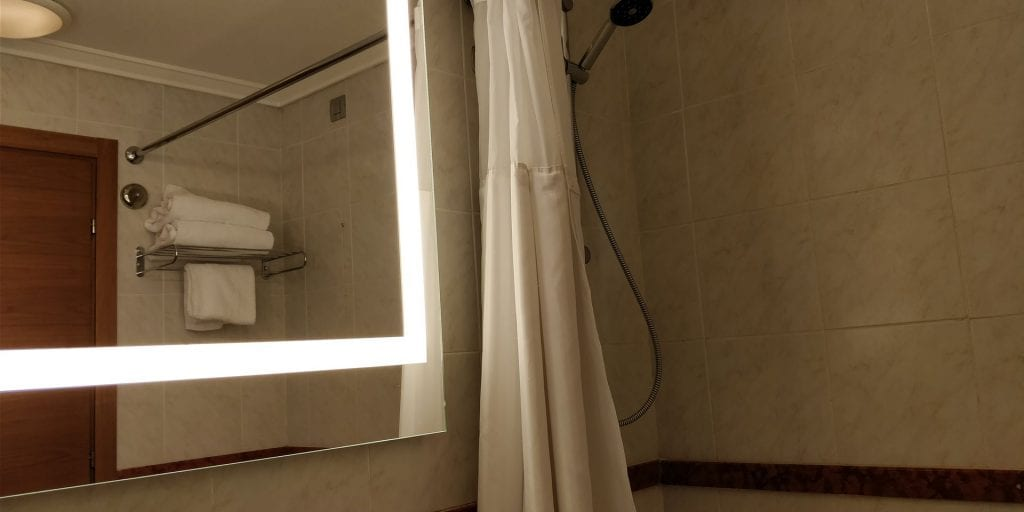 Hilton Milan Bad Dusche