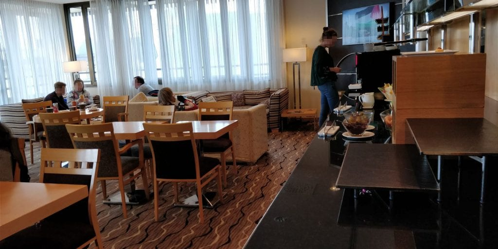 Hilton Milan Executive Lounge Raum