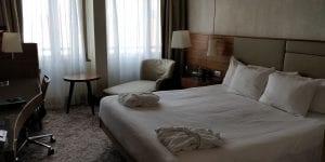 Hilton Milan Zimmer Seite