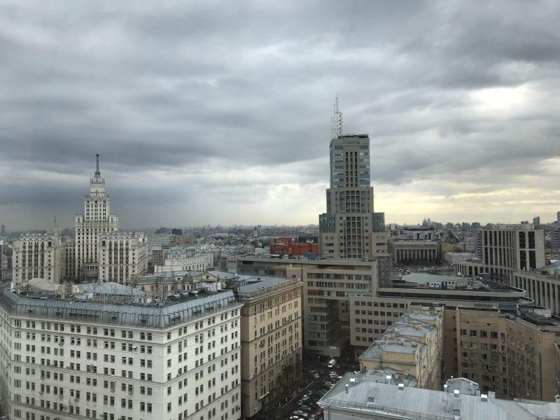 Hilton Moscow Ausblick