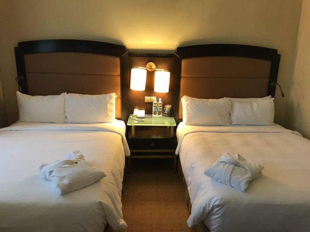 Hilton Moscow Bett 1