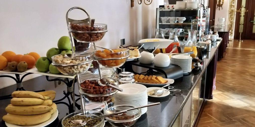 Hilton Moskau Leningradskaya Executive Lounge Buffet