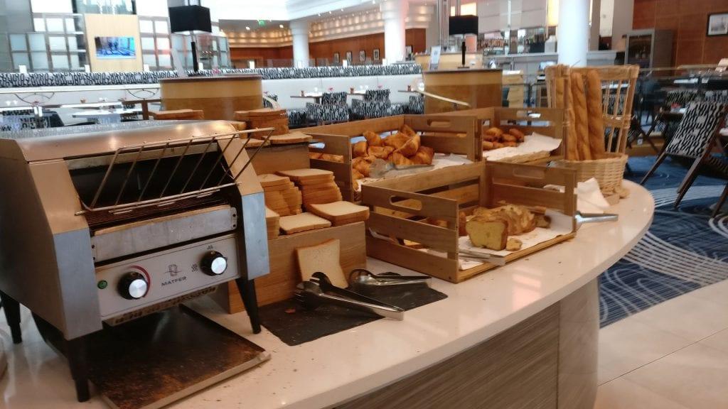 Hilton Paris Charles de Gaulle Breakfast 4