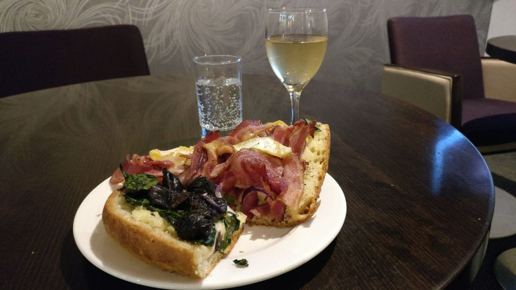 Hilton Paris Charles de Gaulle Executive Lounge Dinner
