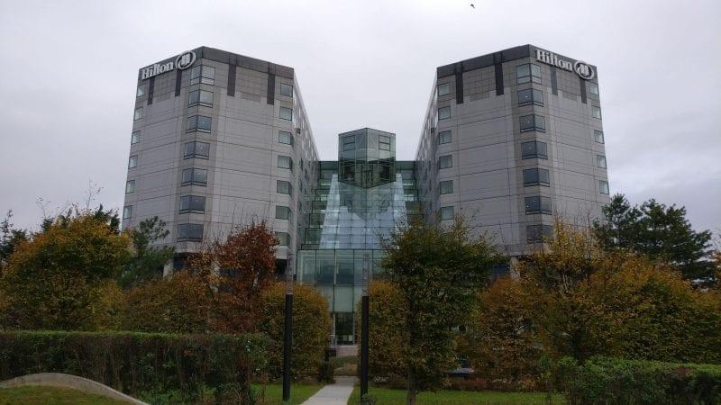 Hilton Paris Charles de Gaulle Exterior