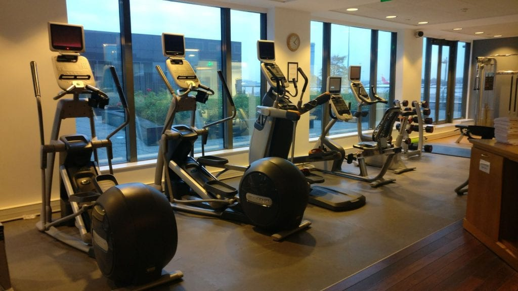 Hilton Paris Charles de Gaulle Gym