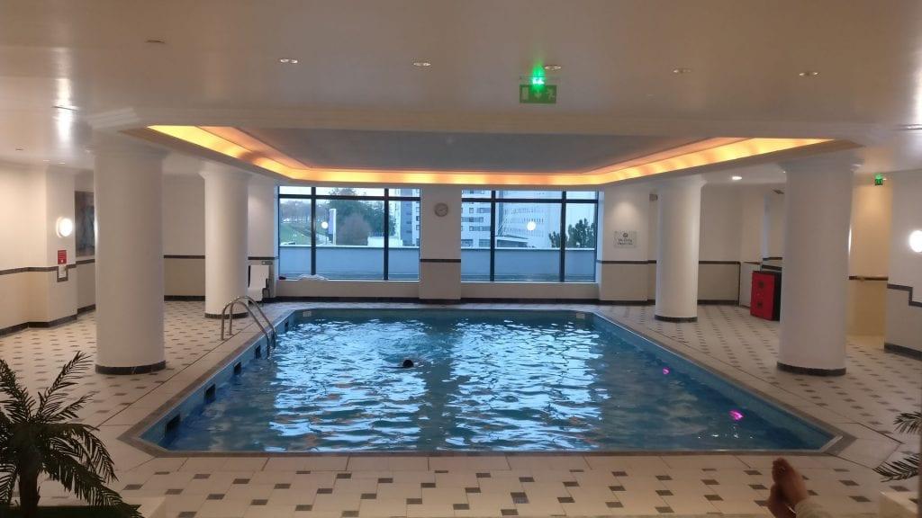 Hilton Paris Charles de Gaulle Pool