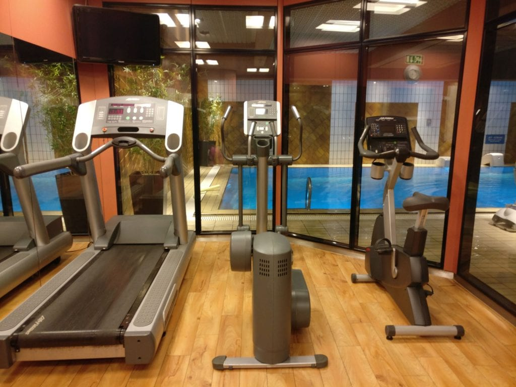 Hotel Le Royal Luxemburg Fitness