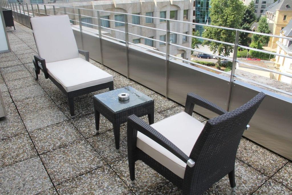 Hotel Le Royal Luxemburg Privilege Room Terrace