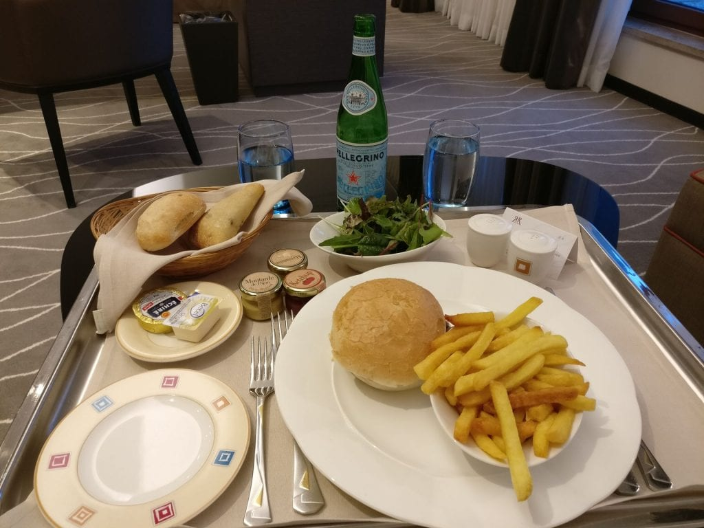 Hotel Le Royal Luxemburg Room Service