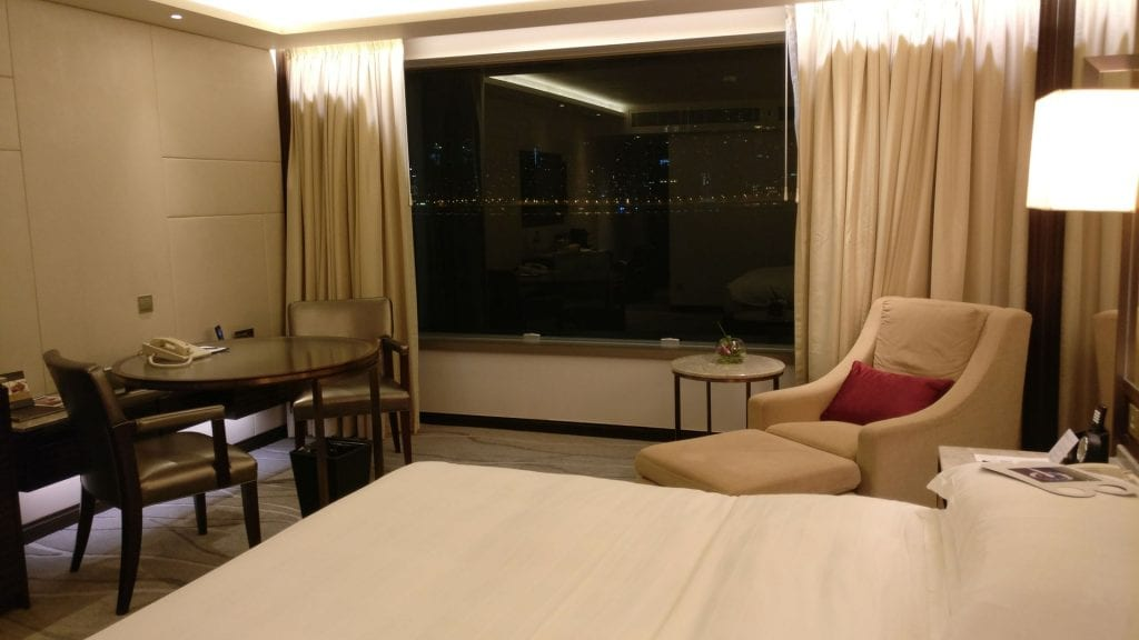 InterContinental Grand Stanford Hongkong Grand Premier Full Harbor View Room 2