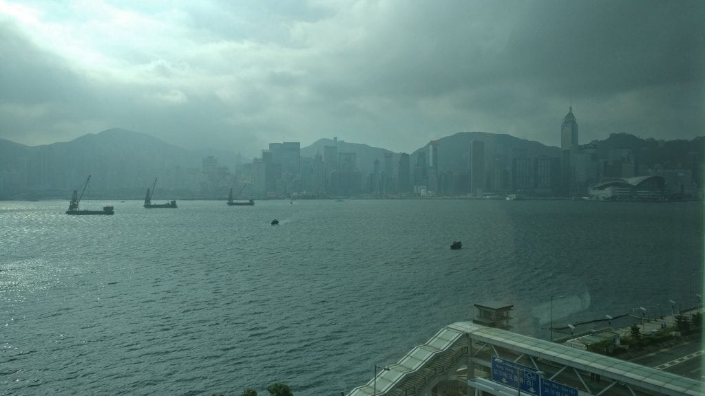 InterContinental Grand Stanford Hongkong Grand Premier Full Harbor View Room View