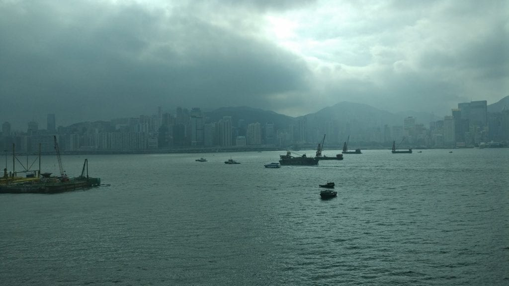 InterContinental Grand Stanford Hongkong Grand Premier Full Harbor View Room View 2