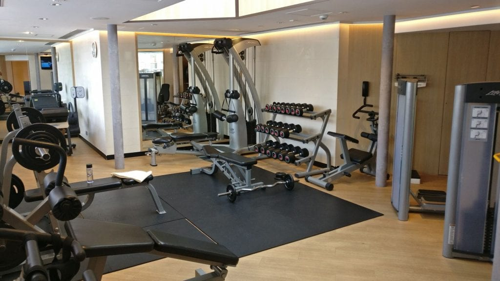 InterContinental Grand Stanford Hongkong Gym 2