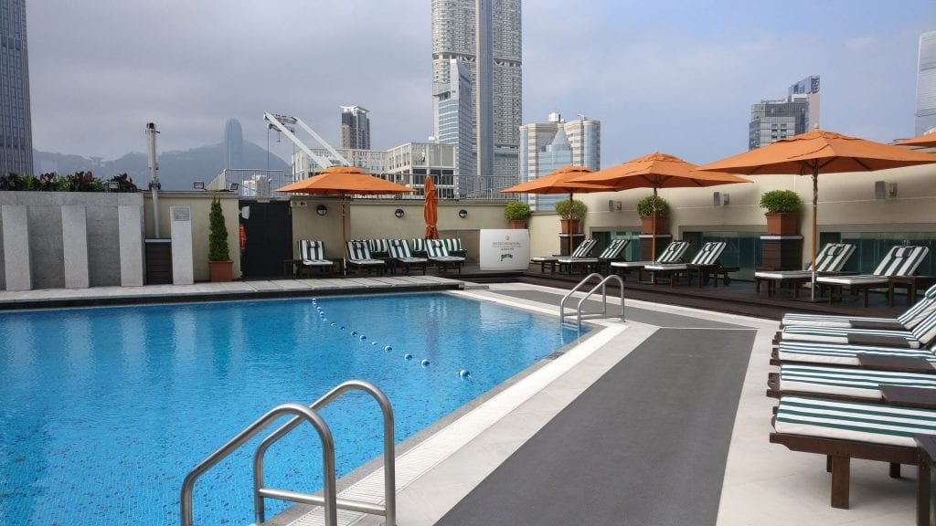 InterContinental Grand Stanford Hongkong Pool 2